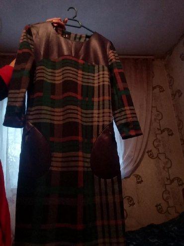 теплое платье большого размера в Кыргызстан: Новая платья.44 размер. Теплая