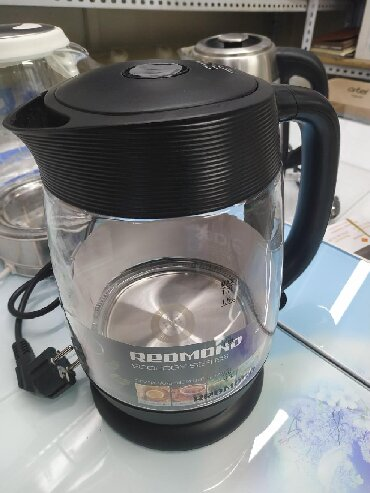 чайник электрический в Кыргызстан: Чайник электрический стеклянная есть бесплатная доставка по городу