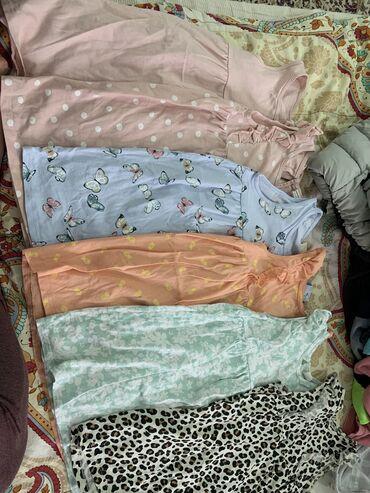 хб платье в Кыргызстан: Детские летние хб платья, в отличном состоянии на 2–3 года