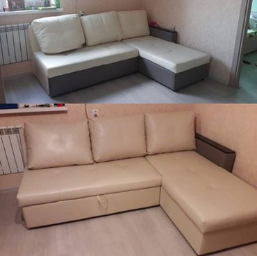 Перетяжка мебели Обивка диванов, кресел в Бишкек