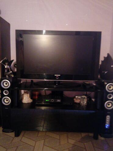 Samsung tv və tv altlıq və audio sistem birlikdə satılır. Qiymət 450