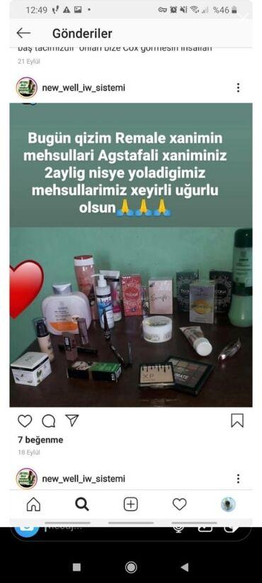 new well firmasi - Azərbaycan: Nisye mehsullar veririk satdigini satirsiz satmadiginizi şirkete qayta
