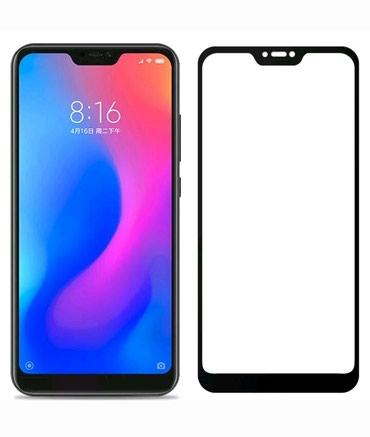 Bakı şəhərində Xiaomi Mi A2 Lite üçün ekranqoruyucu şüşə. Qara rəngdir.