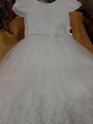 Платье детское, на утренник 7-8лет Турция Новое. Юбка трех слойка