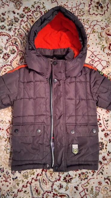 """Детские флис - Кыргызстан: Зимняя детская куртка б/у внутри идет флис на 2-3 года фирмы """"QIQI"""""""