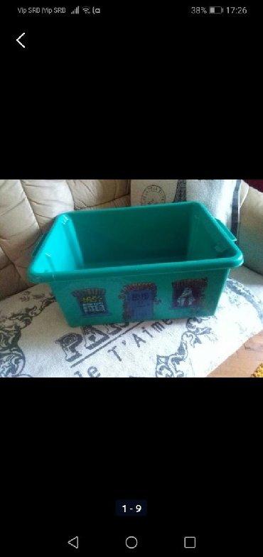 Kutija za igračke pvc