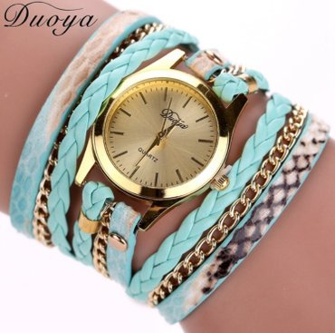 Ženski satovi narukvice Boje kao sa slike: crna, plava, braon, zlatna, - Nis - slika 8