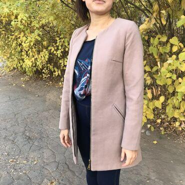 женская пальто в Кыргызстан: Классическое пальто на осень подойдёт на XS.S