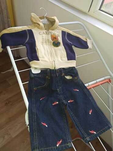 carters набор в Кыргызстан: Толстовка carters +джинсы за 250 сом размер 6-9 м