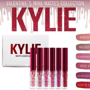 Kylie - Srbija: Kylie Set od 6 tecnih RuževaSamo 990 dinara.Porucite odmah u Inbox