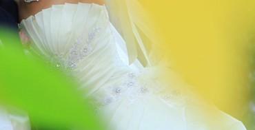 platja dlja 9 10 let в Кыргызстан: Продаю женственное свадебное платье сшитый на заказ, надевали один