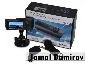 Bakı şəhərində 2-ki kamerali videoreqistrator r300. 2-х камерный