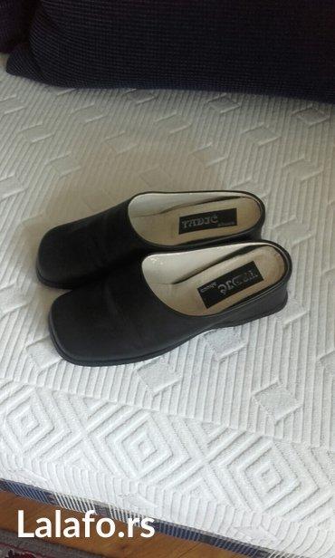 Kožne ženske papuče,nove,broj 39 - Beograd