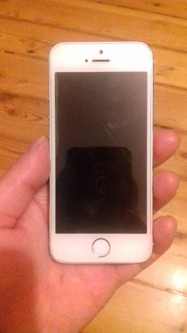 Sumqayıt şəhərində İphone 5s white. Turkiyeden teze gelmisem ordan getirmisem telefonu