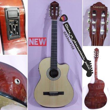 Bakı şəhərində Giannini elektro klassik gitara -- yenidir. Barterdə mümkündü. Whatsap