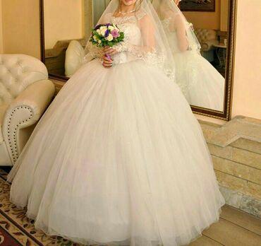 свадебные украшения в Кыргызстан: Продам любимое (счастливое) свадебное платье.После химчистки.Корсет