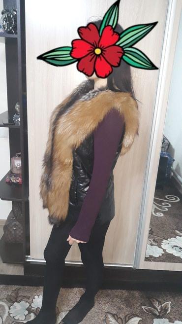 жилет лиса в Кыргызстан: Продам жилет из лисы!Цена 8000Сом
