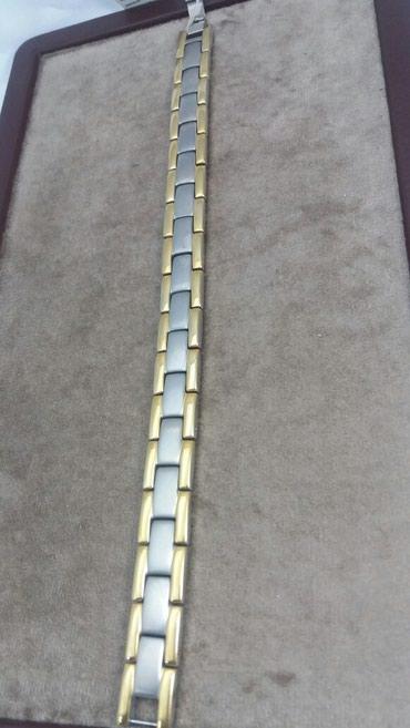 Браслет из титана с магнитам  22 см 5500 Сом в Лебединовка