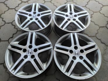 купить диски для машины в Кыргызстан: Оригинальные диски HONDA Диаметр R17Сверловка 5*114.3Ширина 7.0jВылет