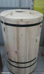 Продается фито бочка (кедровая)! Высота 125-130 смДиаметр 75-85 в Бишкек - фото 2