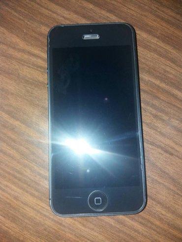 Iphone 5 Moze zamena za neki drugi telefon telefon je u odlicnom stanj - Paracin