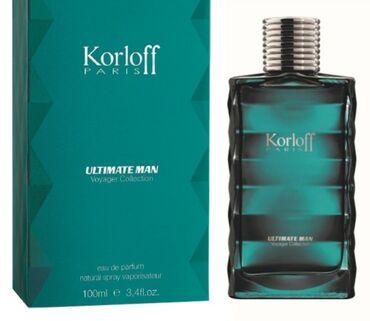 "Духи Korloff Paris "" Ultimate man "" Voyager Collection 100ml eau de"
