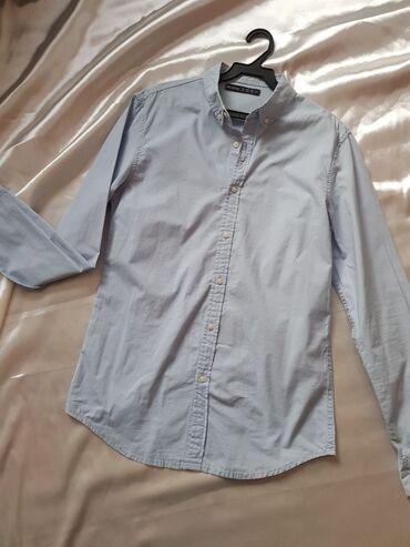 BERSHKA мужская рубашка,новая  Без этикетки Размер S- M Стоимость 550