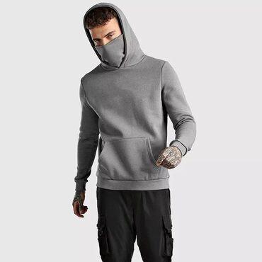 2020 новые серые толстовки мужские маски хлопковые модные толстовки