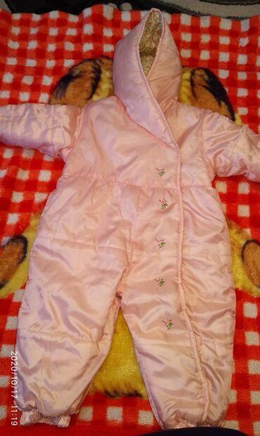 детская осенняя одежда в Кыргызстан: Комбинезон осенний, можно ещё носит на теплую зиму, новое, только без