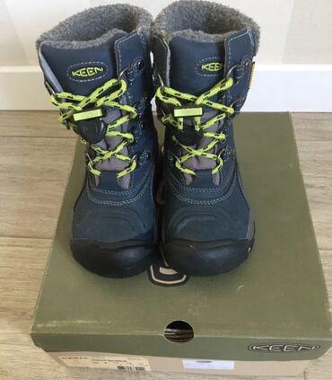 Продаю детские зимние ботинки канадской фирмы Keen, размер 29 качество