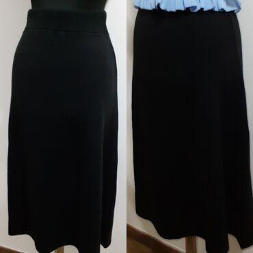 Duga suknja za jesen, zimu.  Veličina je univerzalna od S-Xl