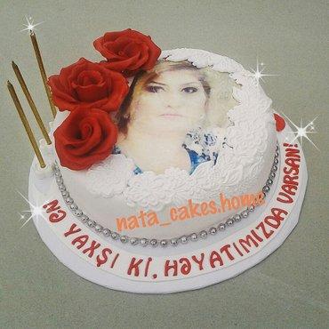 Bakı şəhərində Ev tortlarının sifarişi qəbul olunur