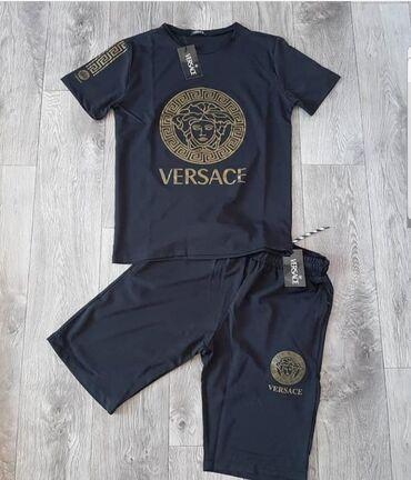 VERSACE Шорты и футболка комплект В наличии все размеры S,M,L,XL,XXL