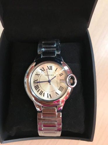 Bakı şəhərində Qadın Gümüşü Qol saatı