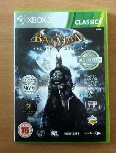 Xbox 360 & Xbox | Srbija: Batman-Arkham Asylum igrica za Xbox 360 Nov!