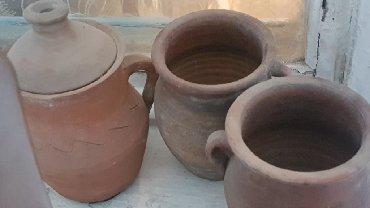 стенки для зала в Азербайджан: Глиняные горшки все 3 шт. За 10 м