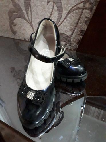 Продаю туфли детские(кожа,цвет в Бишкек