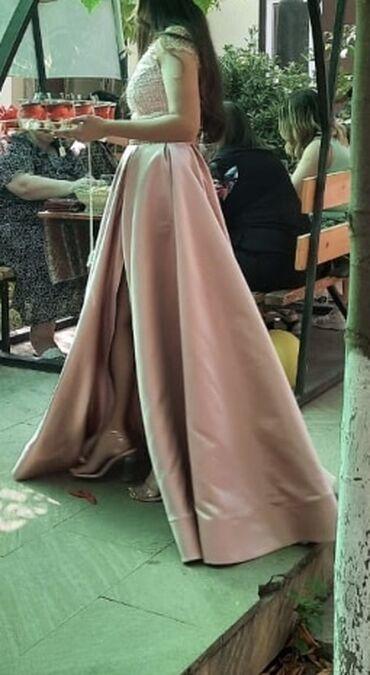 10296 elan   UŞAQ DÜNYASI: Elbise nisan ucun tikdirilib. Birdefe nisanda geynilib. Yeni sayilir