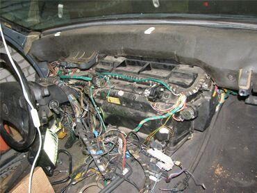 Bmw e34 печь 1992 год вся в сборе, вентилятор, корпус, проводка, радиа