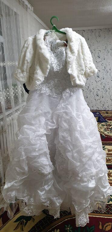 Свадебные платья - Токмак: Продаю свадебное платье 44 размера. Не дорого звонить по номеру цена