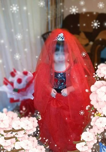 Платье для маленьких принцесс от 4 до 6 в Токмак