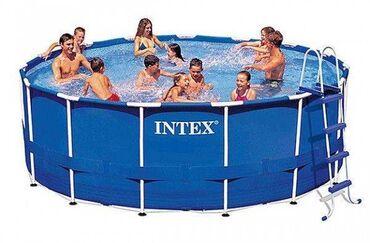 10516 объявлений: Каркасный бассейн INTEX, 457х122 см