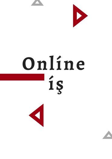 Xarici şirkətin platformasında iş imkanı. İş online idarə olunur. İşin