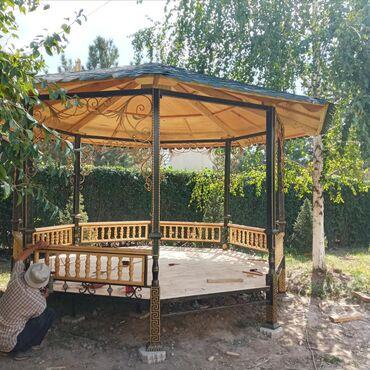 Садовая мебель - Кыргызстан: Топчаны 8 грани, по трассе алматинская 390 / чекиш ата рядом, цены по
