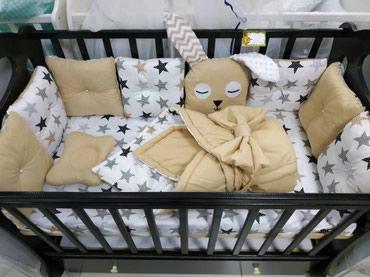 Бортики в кроватку в комплекте с одеялом в Бишкек