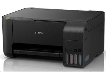 Электроника - Лебединовка: Мфу epson l3101/3100 4 цветный принтер сканер копир. Заводская