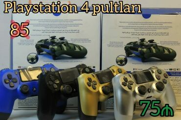 Video oyunlar üçün aksesuarlar - Azərbaycan: PlayStation 4 pultları