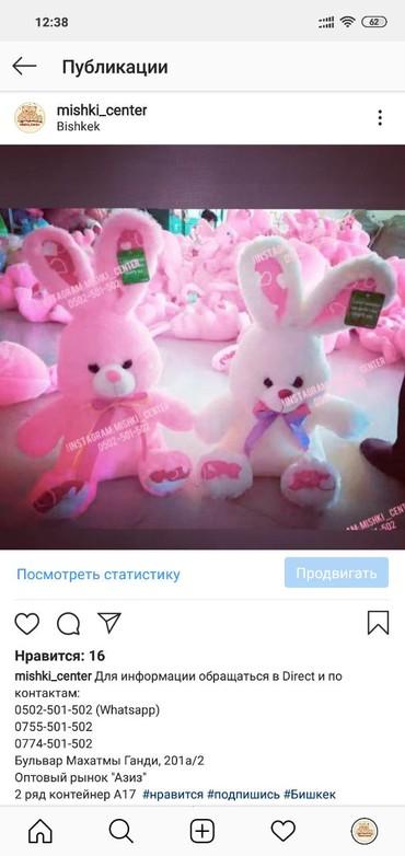 Зайцы Кролик мишки в Бишкек