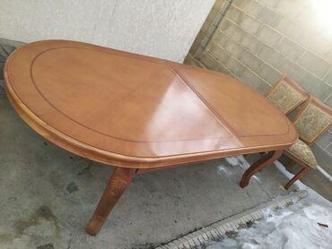 ким бу хором в Кыргызстан: Гостевой стол Длина 2,5 м ширина 1,1м Можно добавить + 50 см к