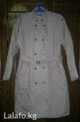 Пальто мужское светло-бежевое, размер 48 в Бишкек